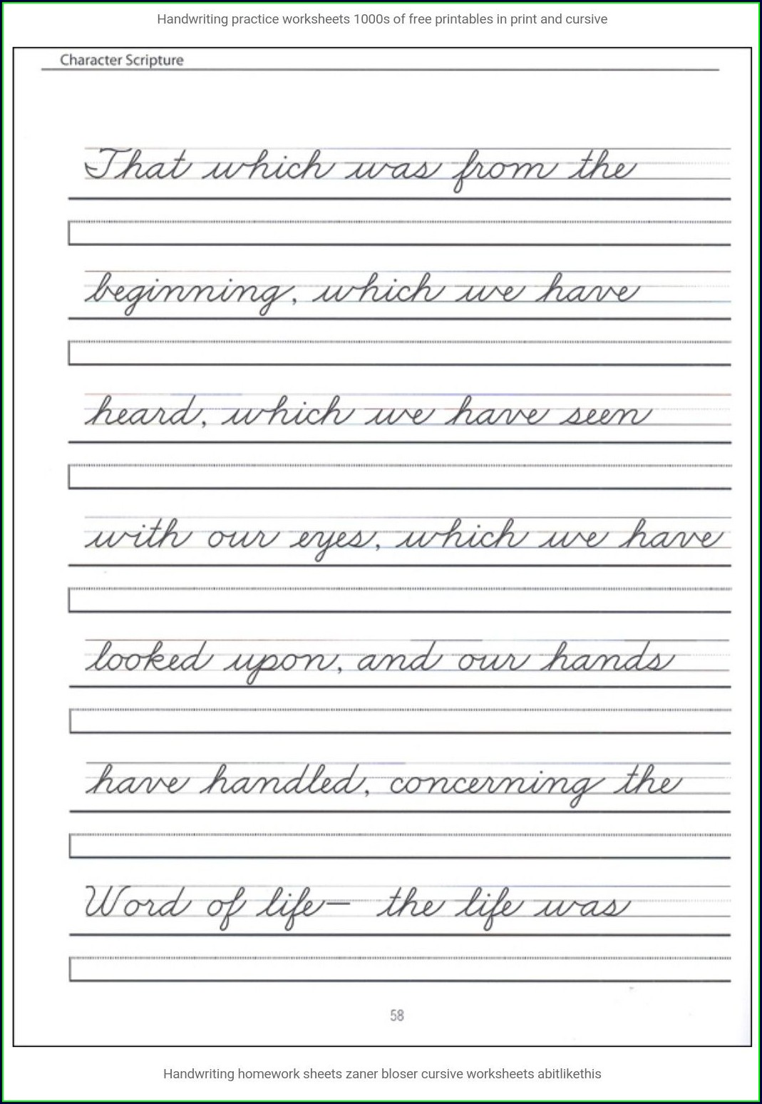 Worksheet Cursive Writing Practice Sheets For Adults