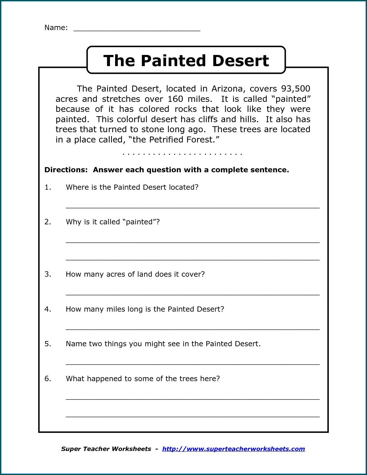 Worksheet English For Year 3