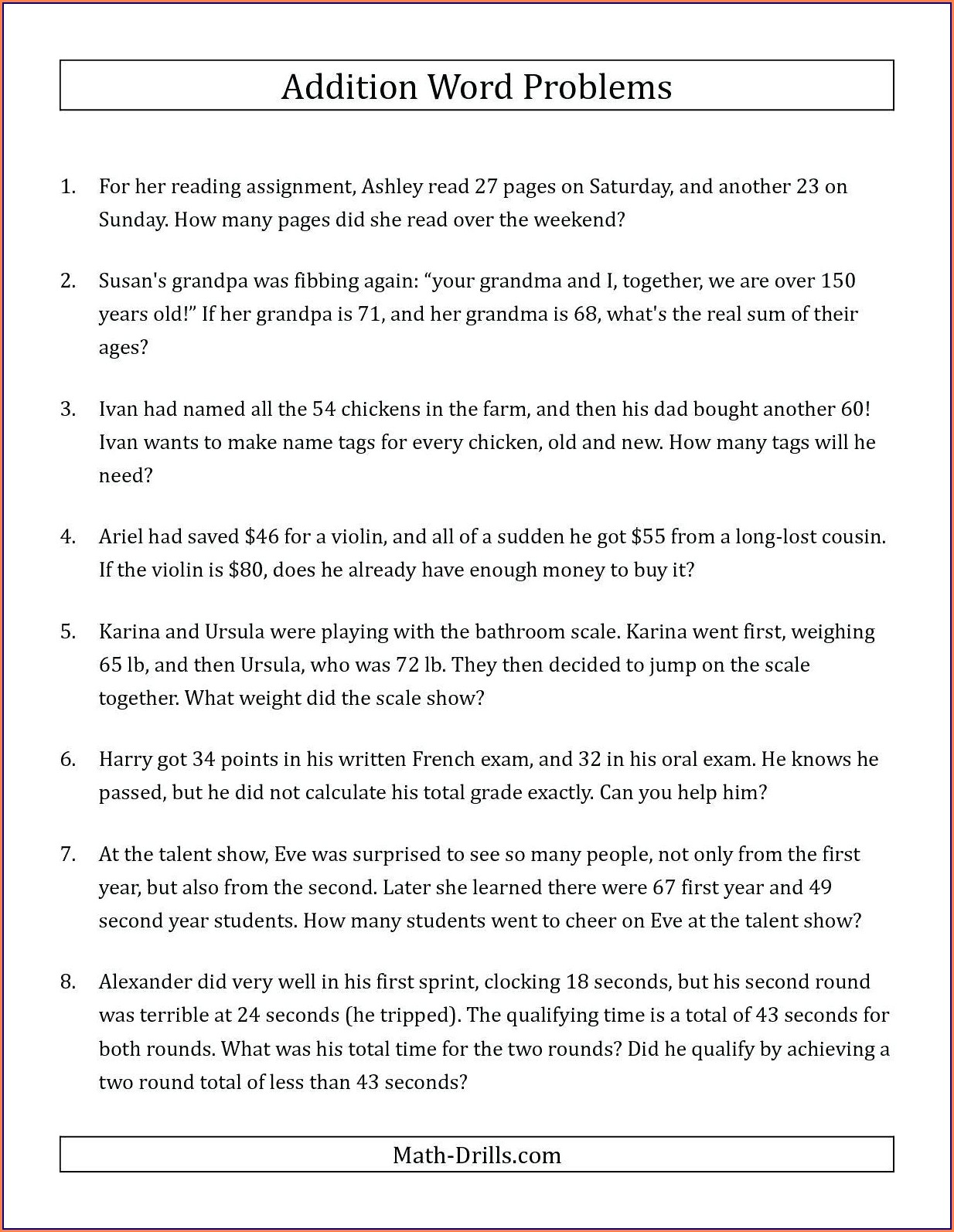 Worksheet On Rational Numbers Word Problems