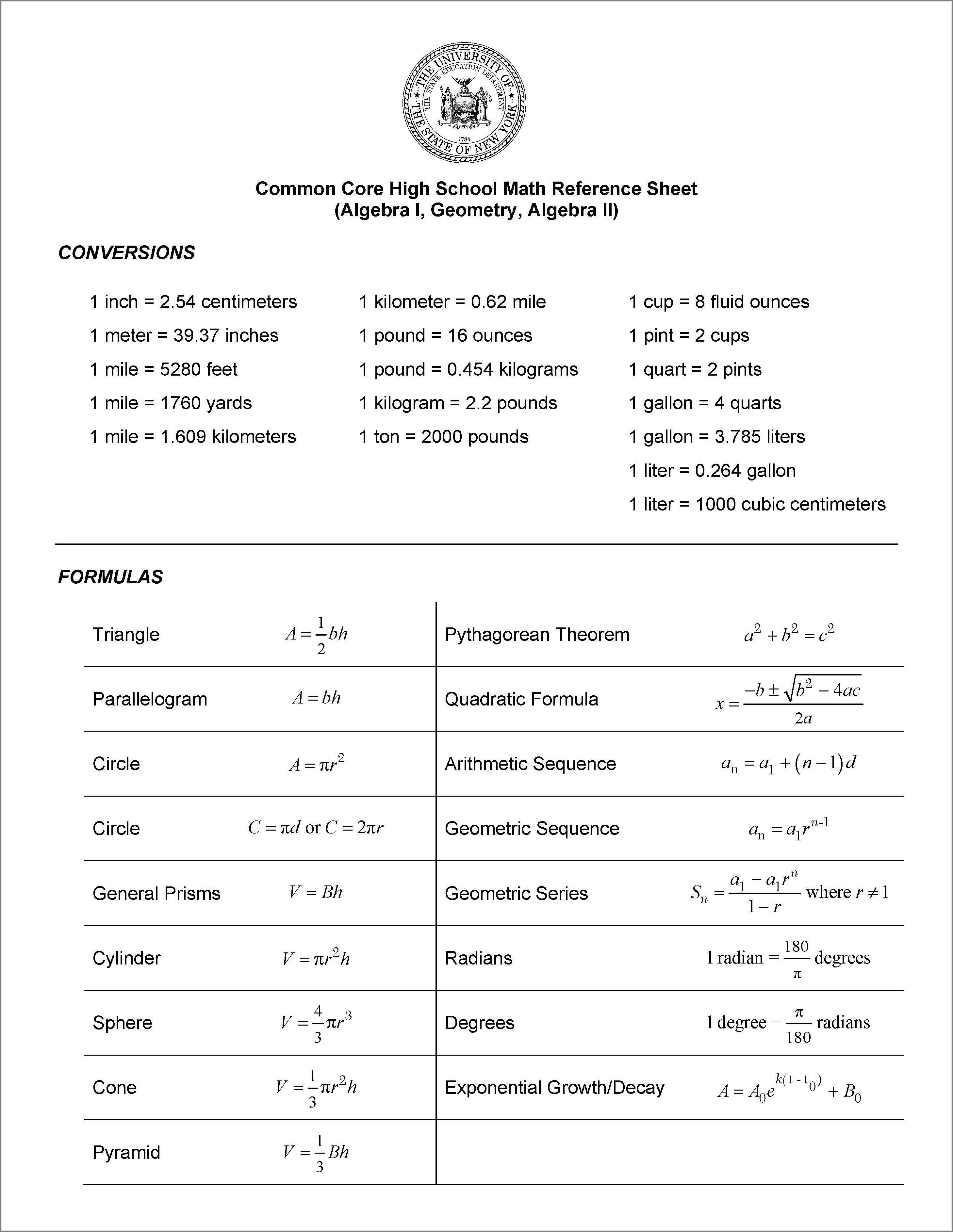 Worksheet Writing Trig Equations A 3 4
