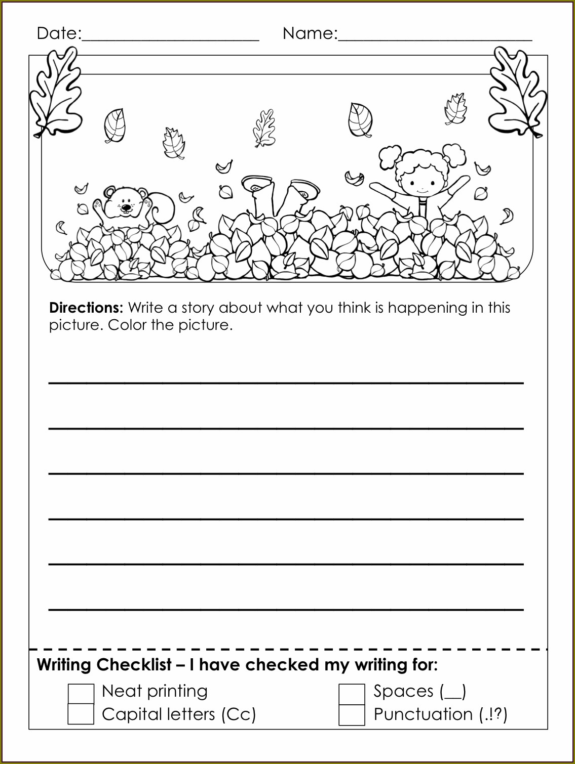 Writing A Letter Worksheet 3rd Grade