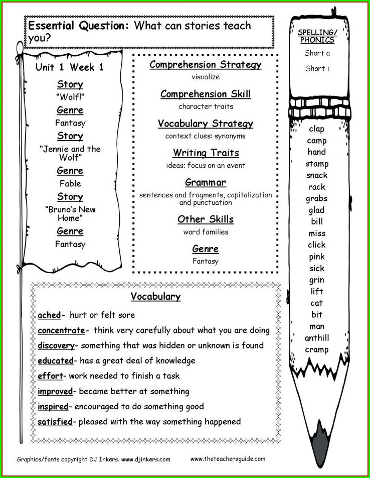 Year 3 English Comprehension Worksheets Free