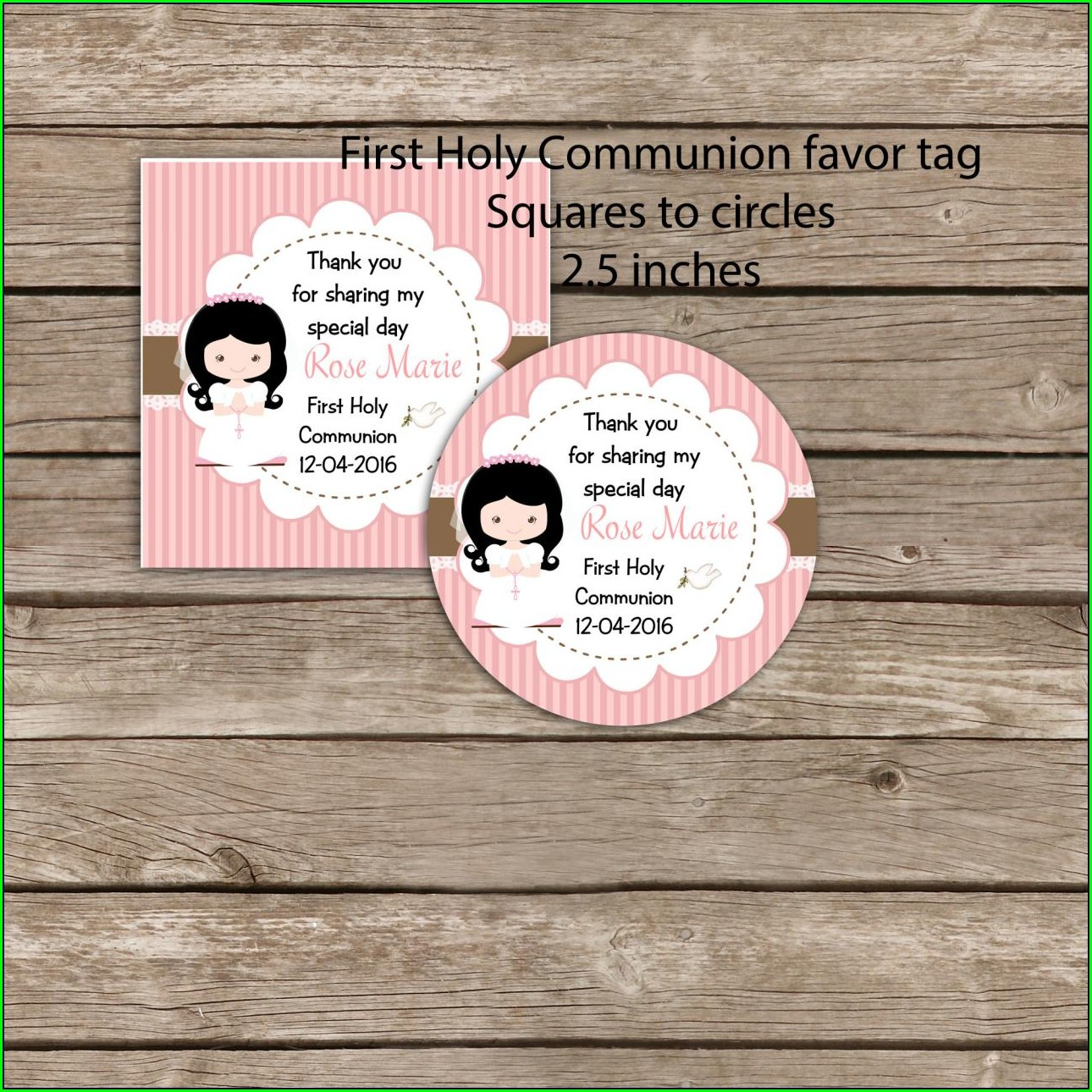 1st Communion Invitations Free