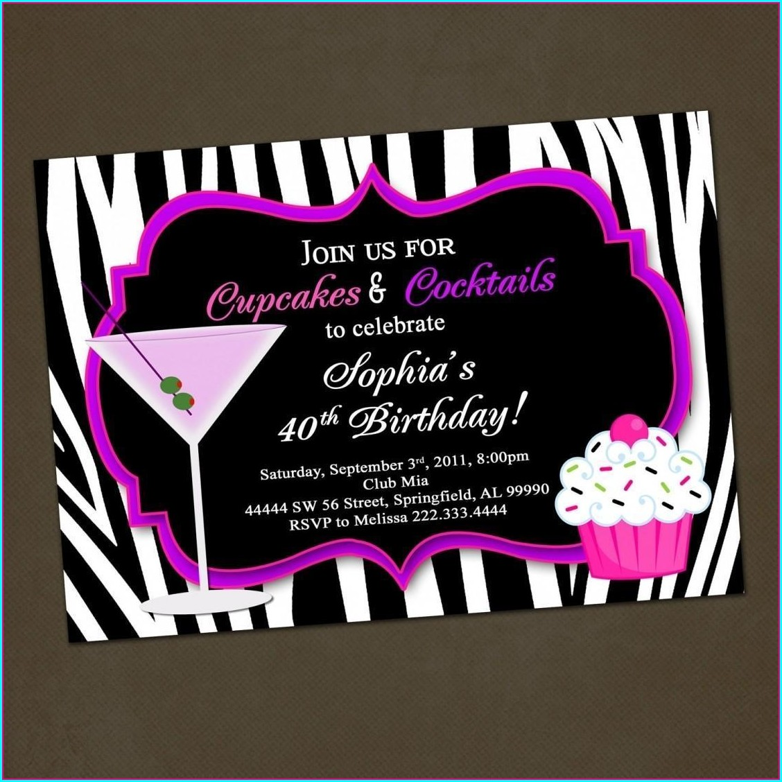 30th Birthday Invitations Ideas