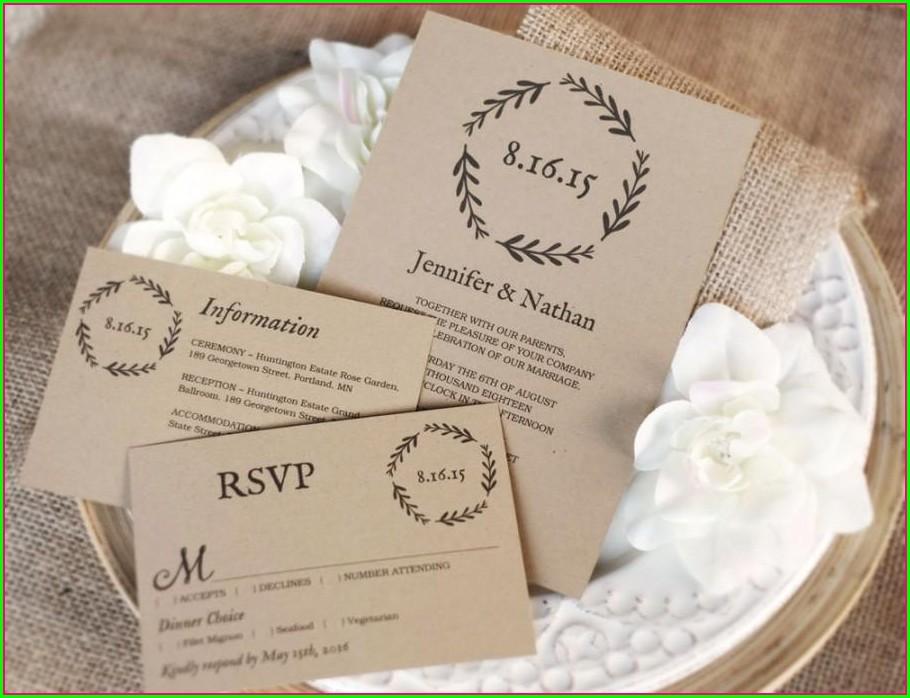 35 X 5 Invitations
