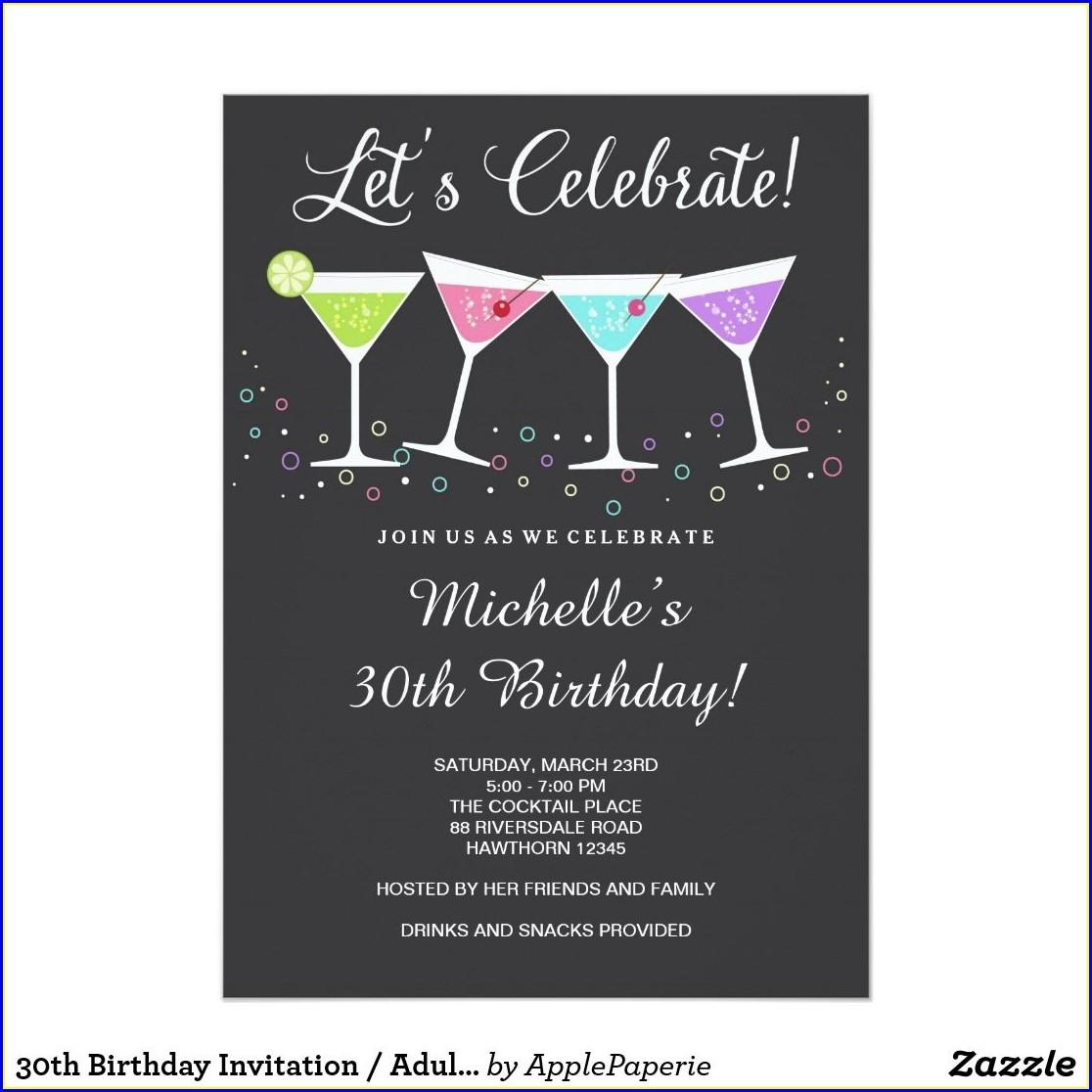 35th Birthday Invitation Message