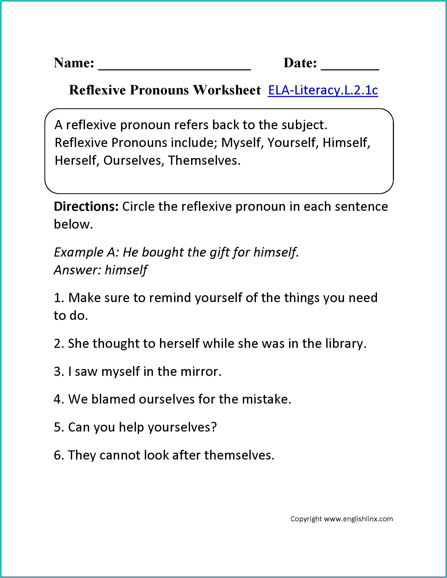 3rd Grade Conventions Worksheet