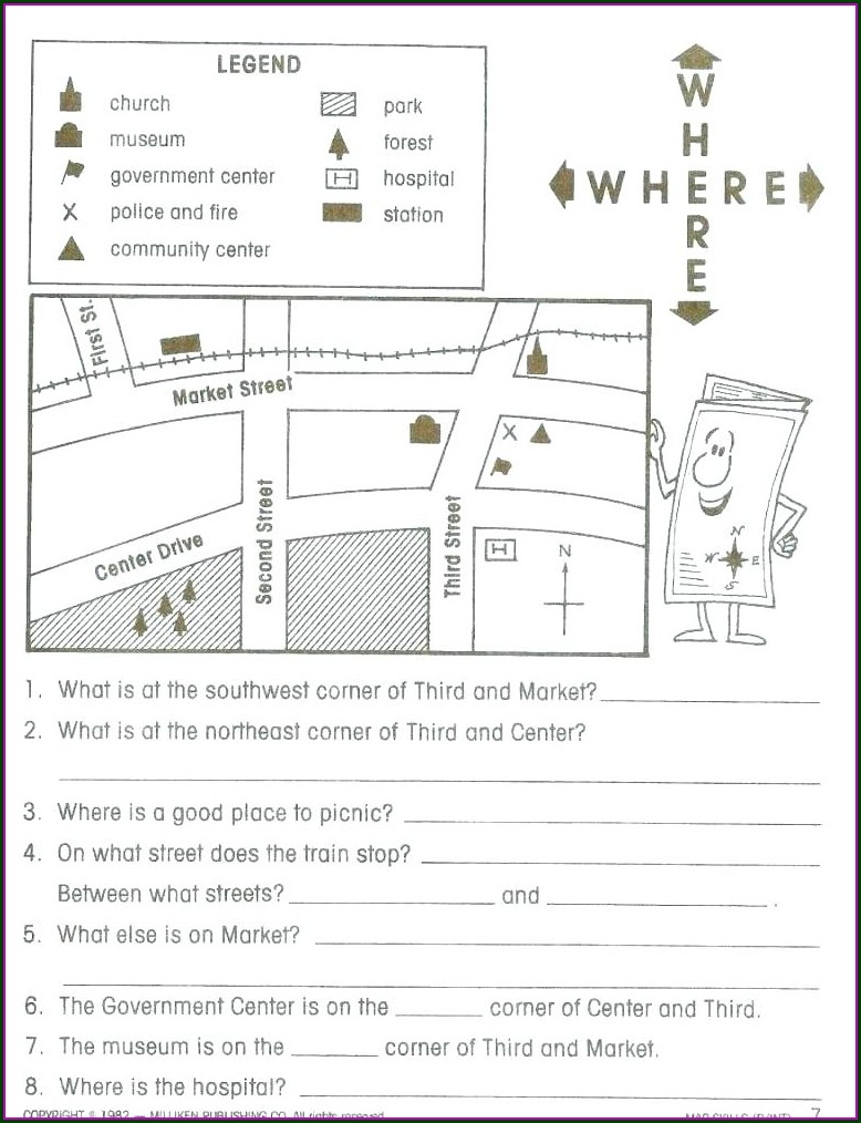 3rd Grade Social Studies Worksheets With Answer Key