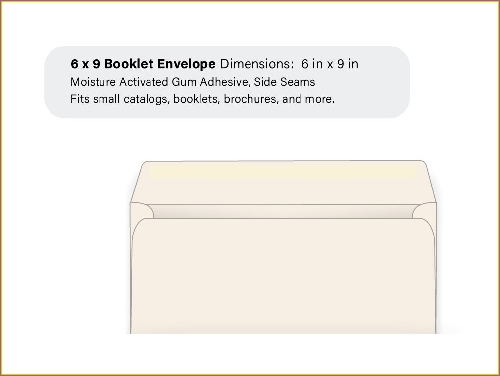 6x9 Wedding Invitation Envelopes