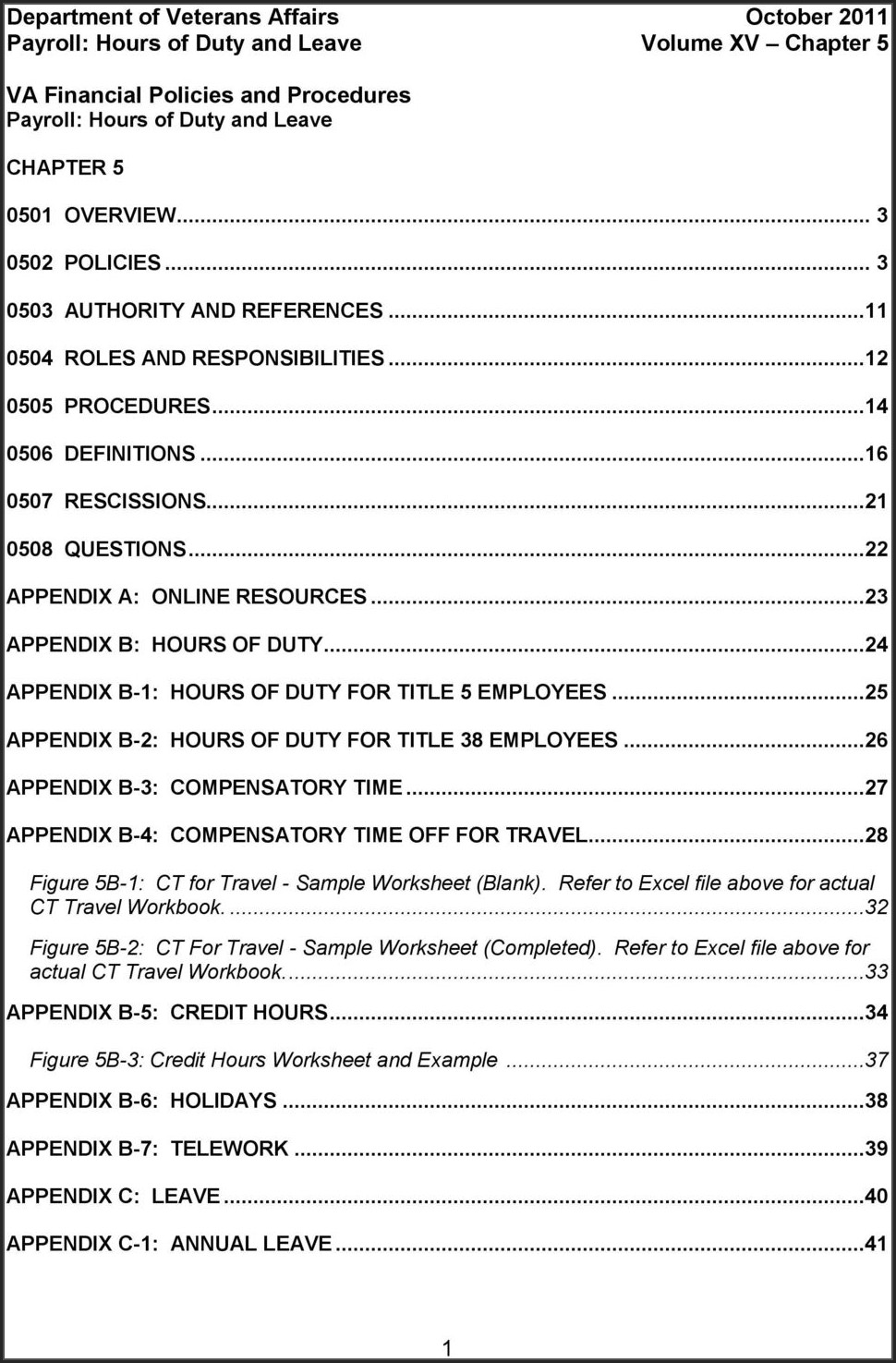 Army Travel Comp Time Worksheet