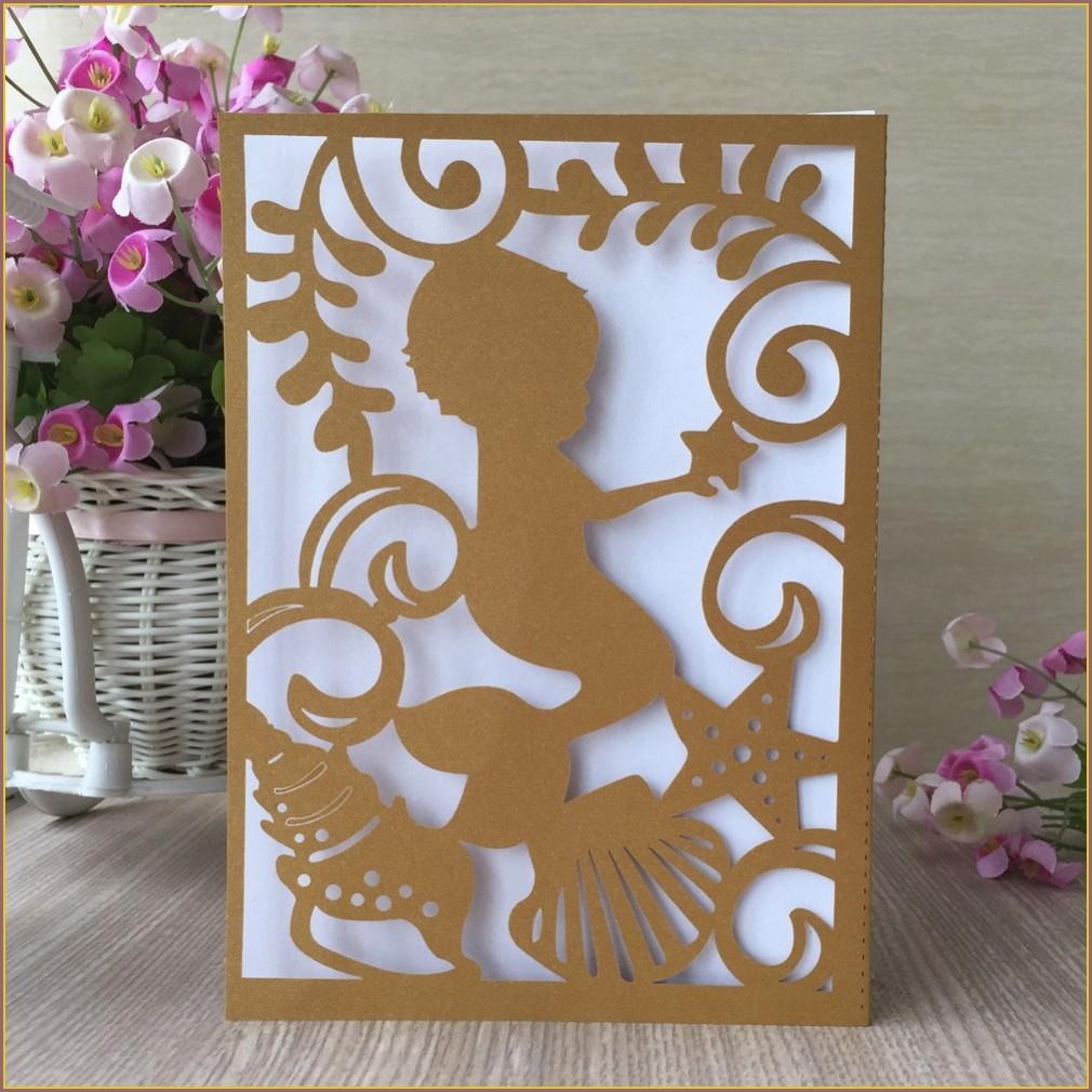 Baby Boy Birthday Invitation Card Design