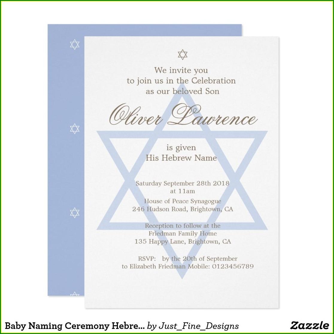 Baby Naming Ceremony Invitation Quotes