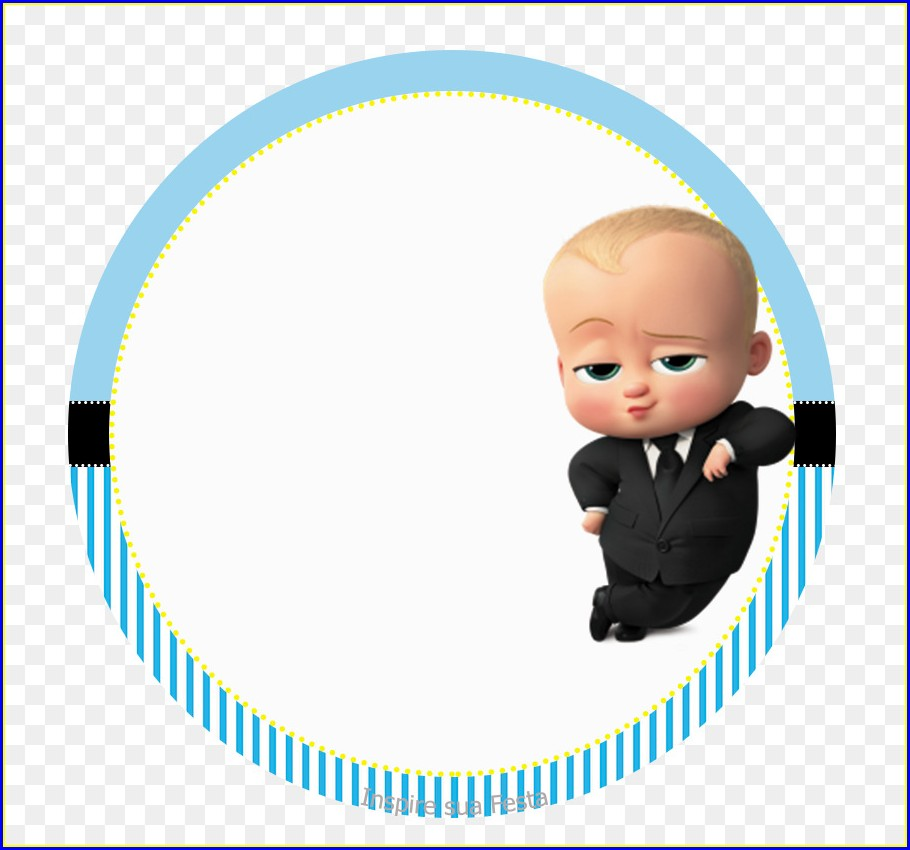 Background Boss Baby Invitation Card Template Free