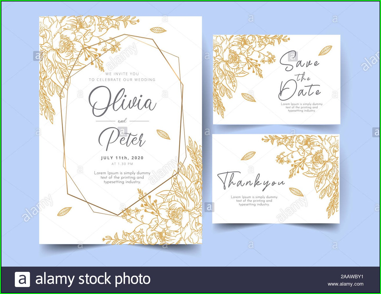 Background Wedding Invitation Card Template