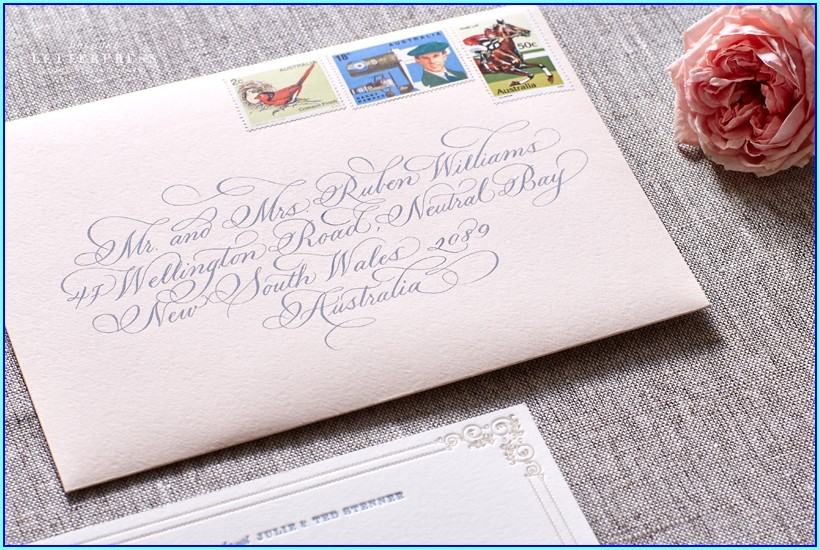 Bespoke Letterpress Wedding Invitations