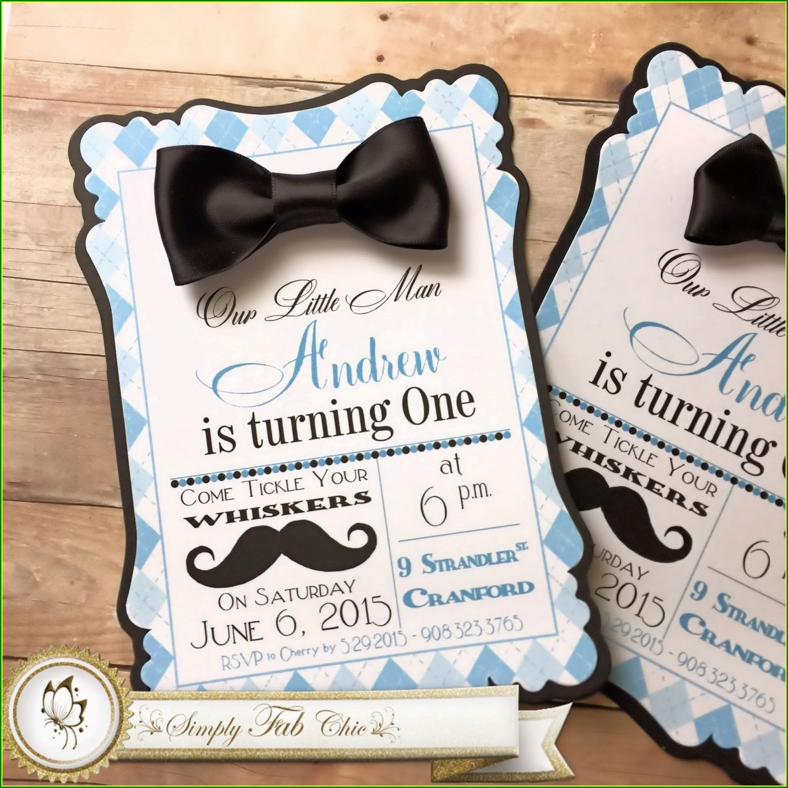 Best Man Invitation Template