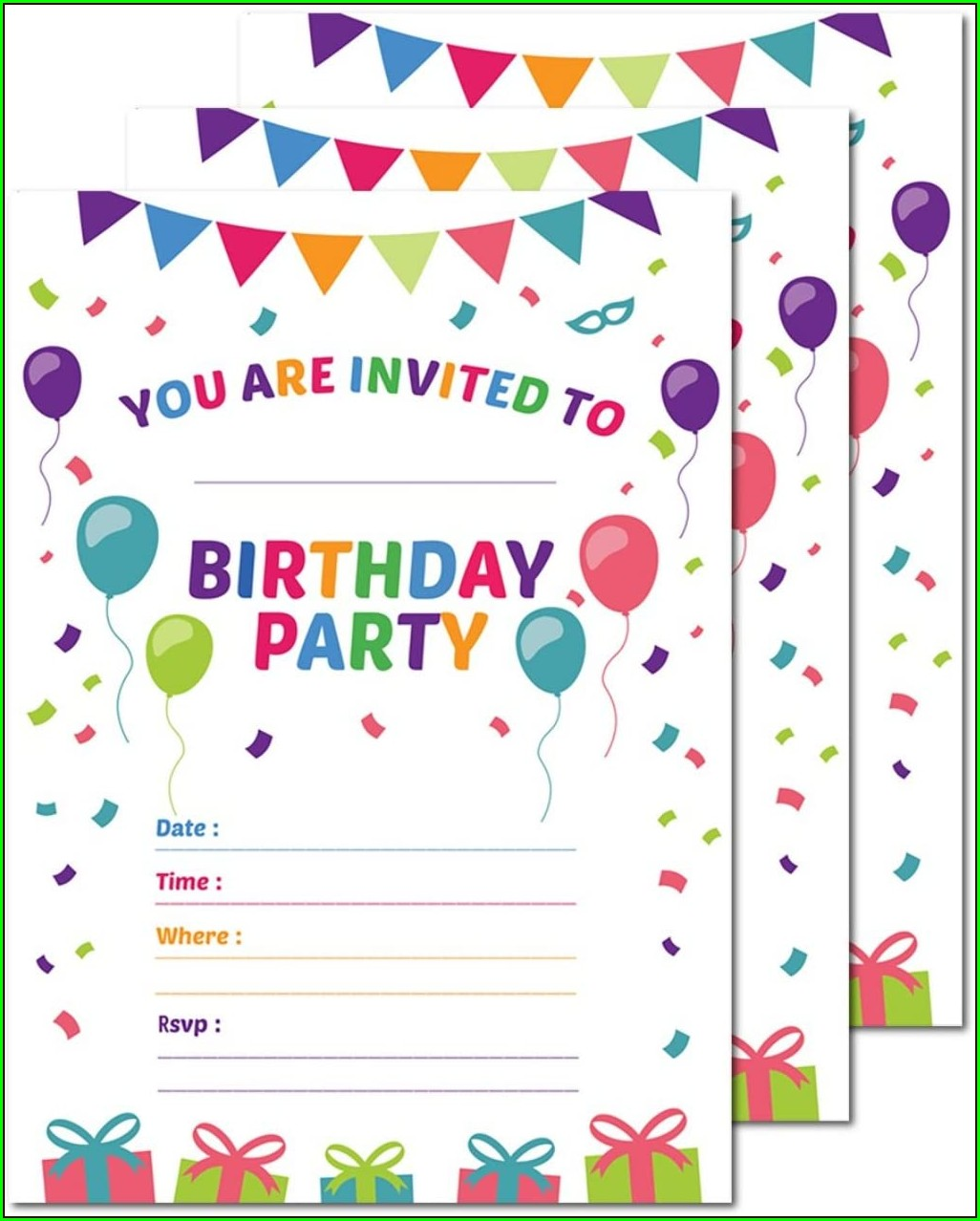 Best Place To Print 5x7 Invitations