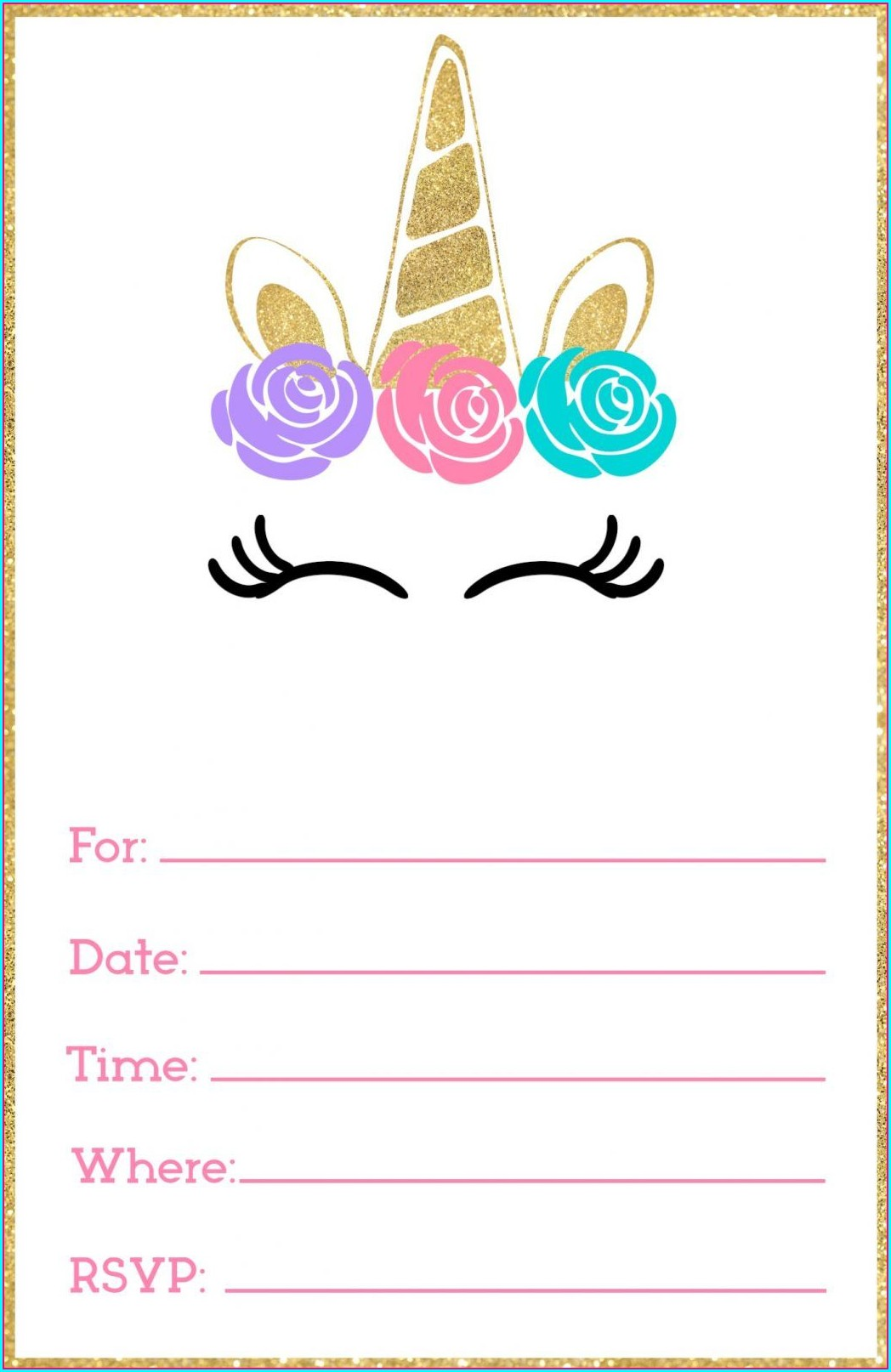 Birthday Free Online Invitation Templates