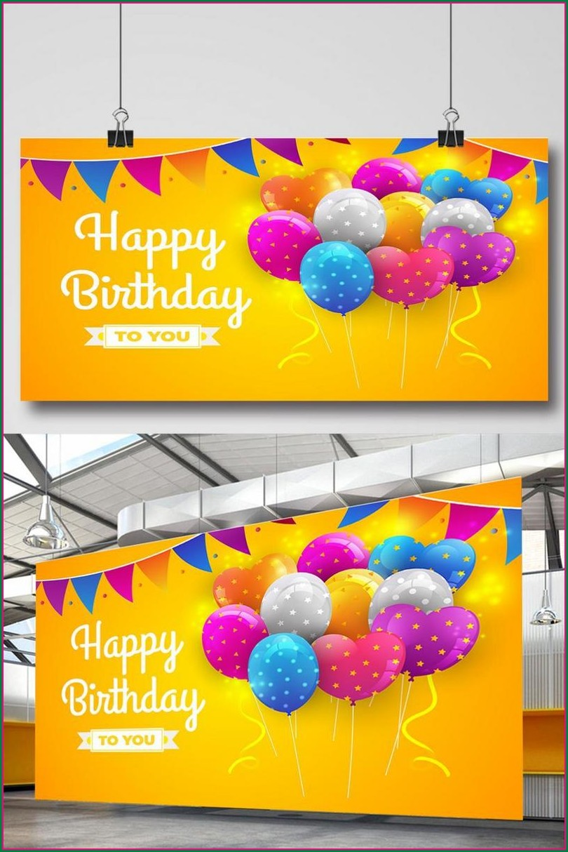 Birthday Invitation Background Hd