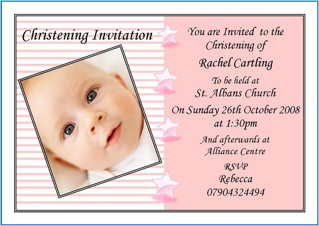 Birthday Invitation Layout Free Download