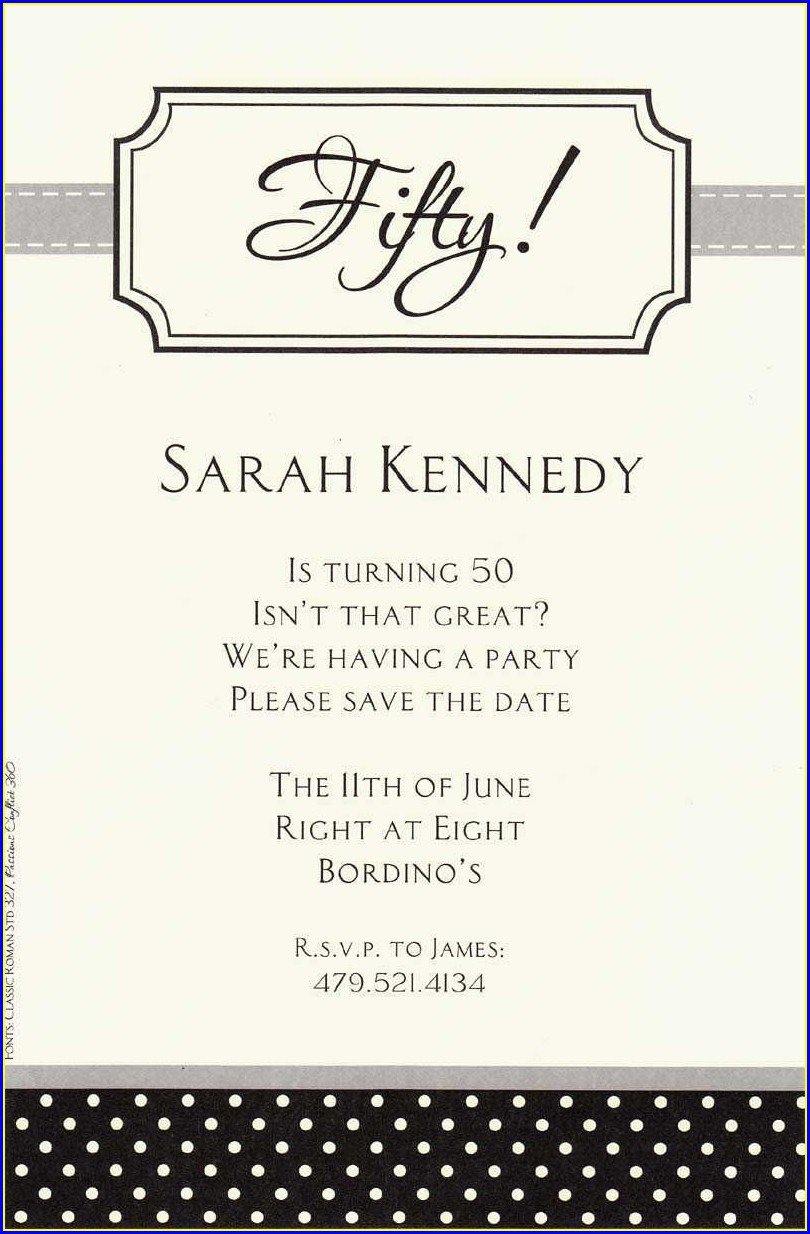 Birthday Invitation Sayings For Adults