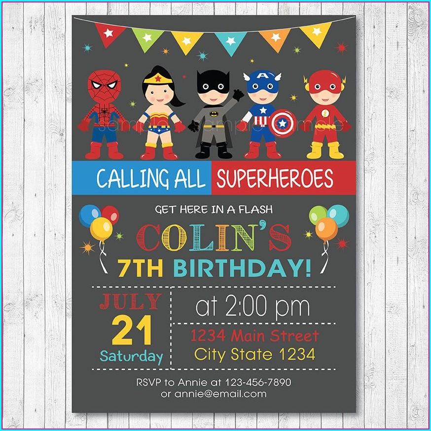 Blank Paw Patrol Birthday Invitations