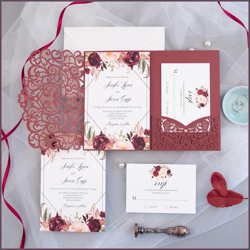 Chinese Wedding Invitation Templates Microsoft Word