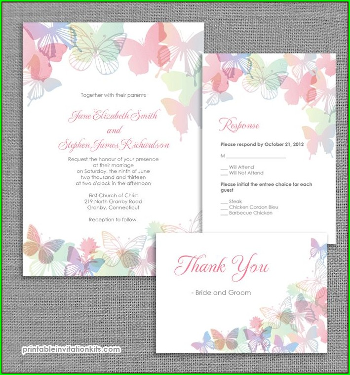 Christian Wedding Invitation Templates Free Download