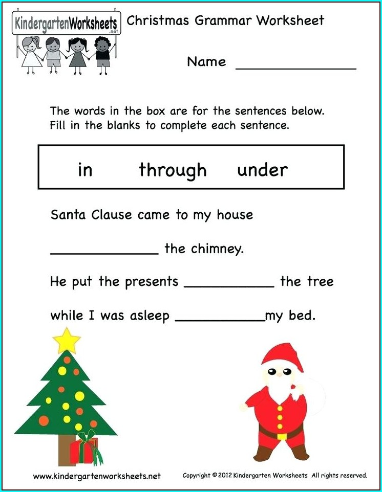 Christmas Math Worksheet Middle School