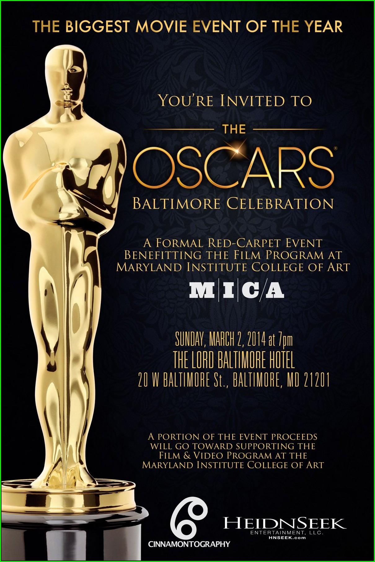 Classy Award Ceremony Invitation Template