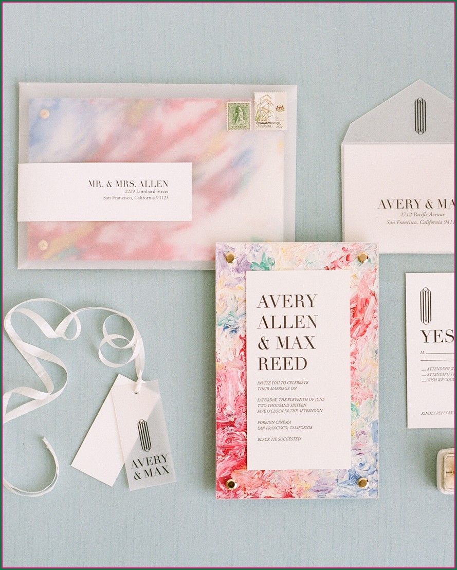 Clear Envelopes For Invitations