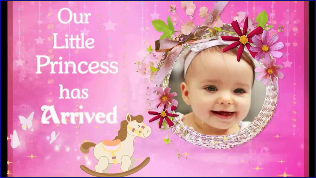 Cradle Ceremony Invitation Message For Baby Girl