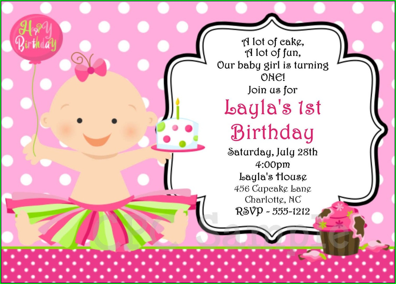 Create Birthday Invitation Card Online Free For Whatsapp