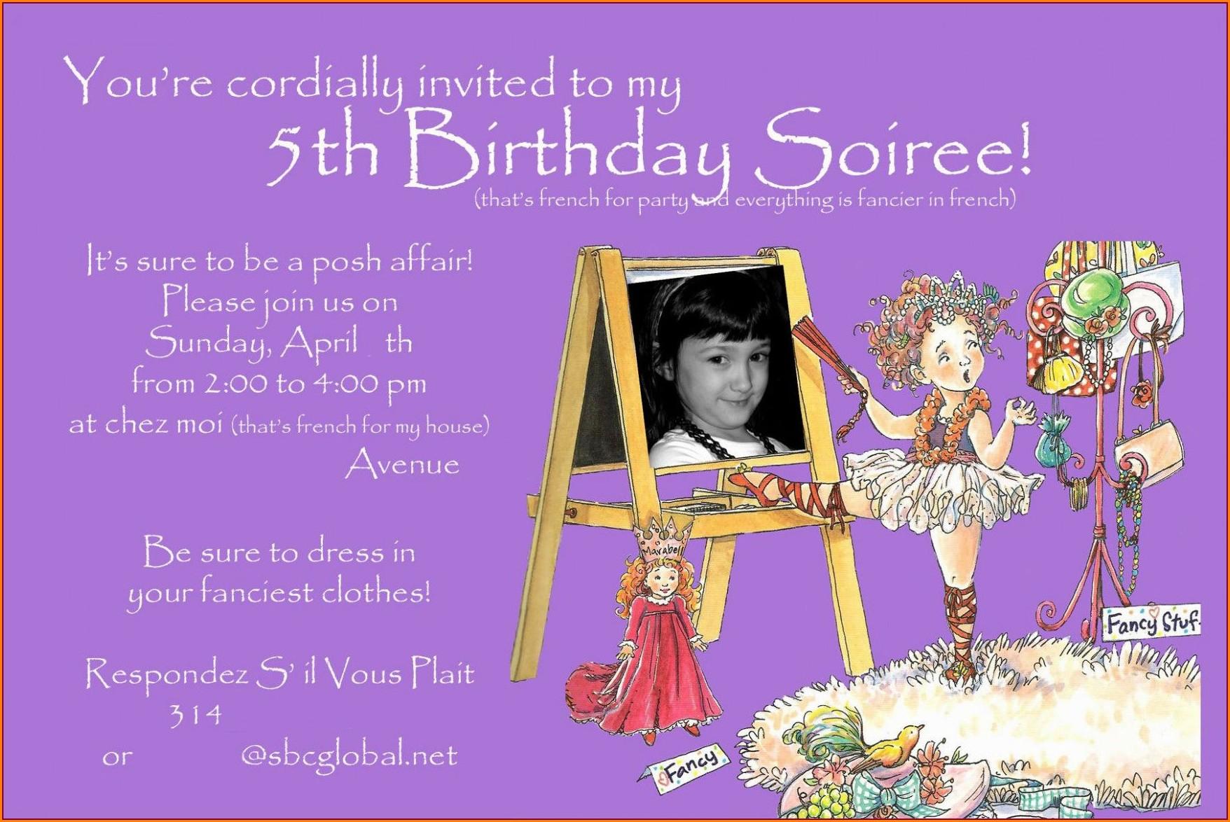 Create Birthday Invitation Card With Photo Free
