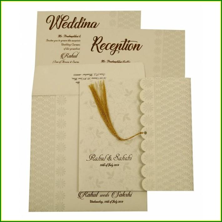 Creative Hindu Wedding Invitation Wording