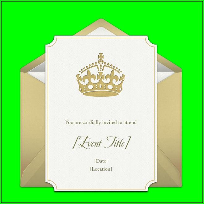 Crown Royal Birthday Invitations