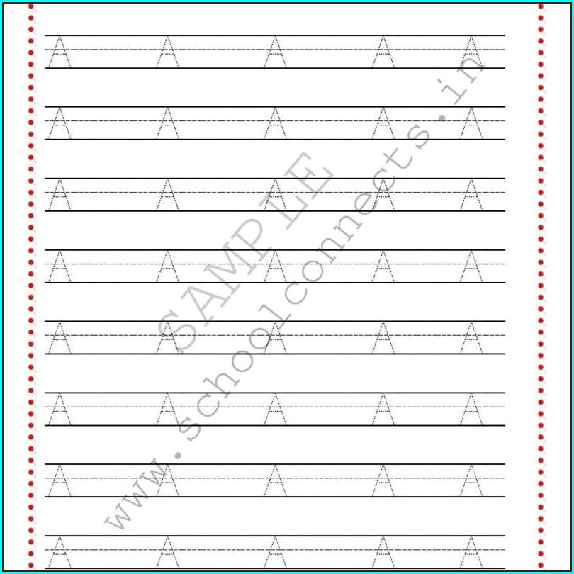 Cursive Handwriting Worksheets For Ukg