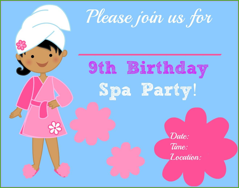Design Birthday Invitations Free Printable