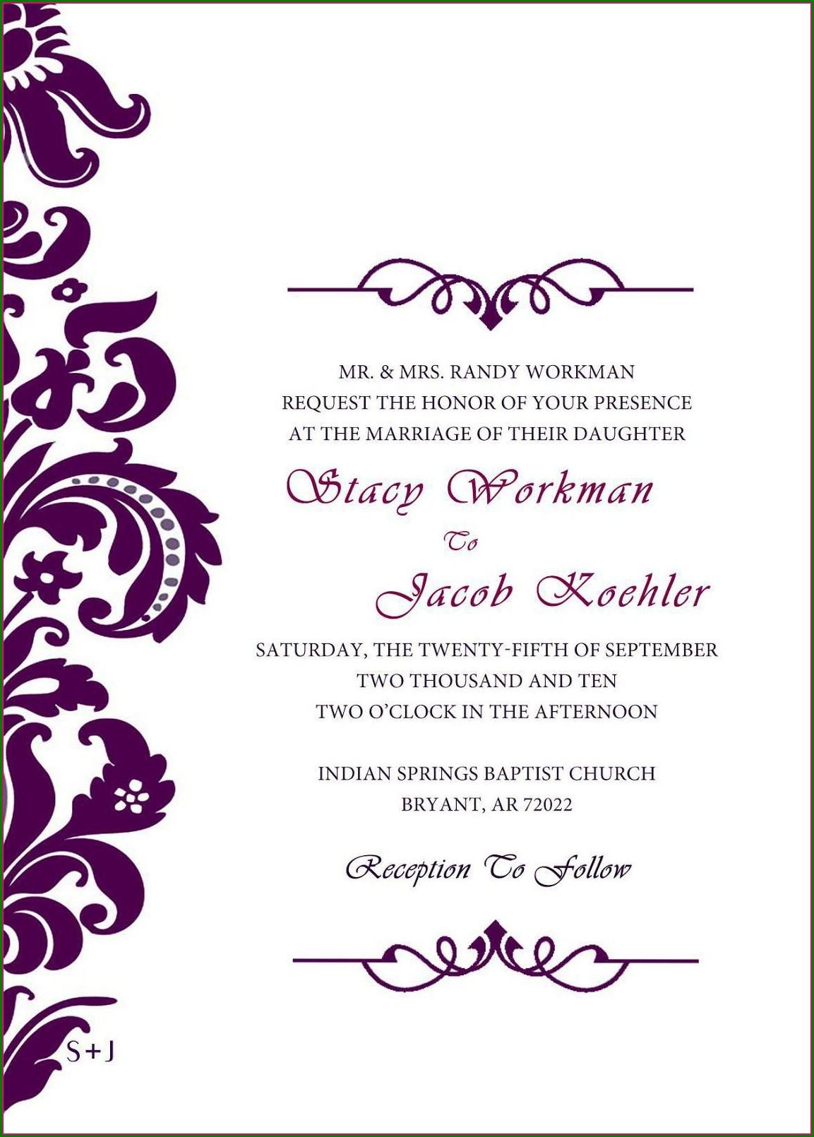 Design Free Invitations Printable