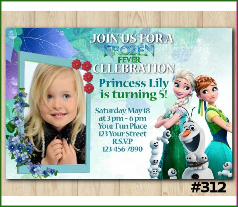 Digital Invitation Card With Photo