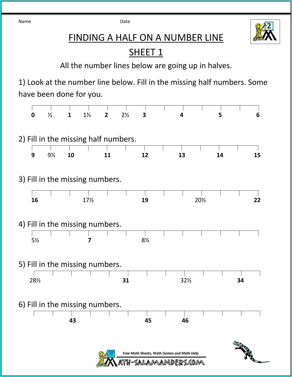 Division 5th Grade Math Printable Worksheets