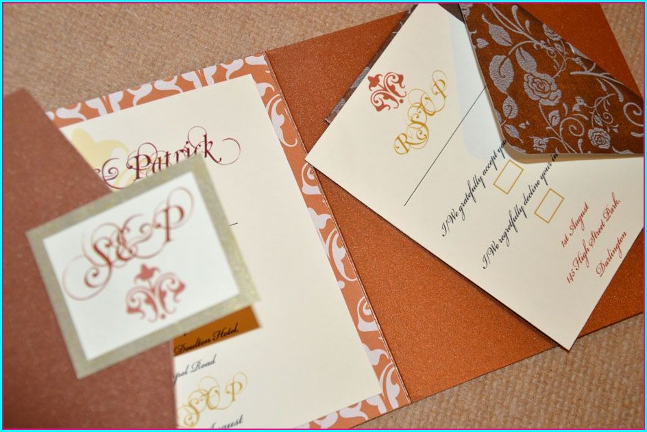 Diy Wedding Invitation Kits Ireland