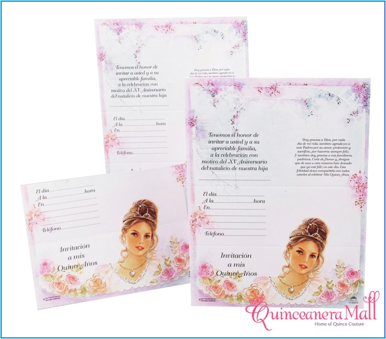 Do It Yourself Quinceanera Invitations