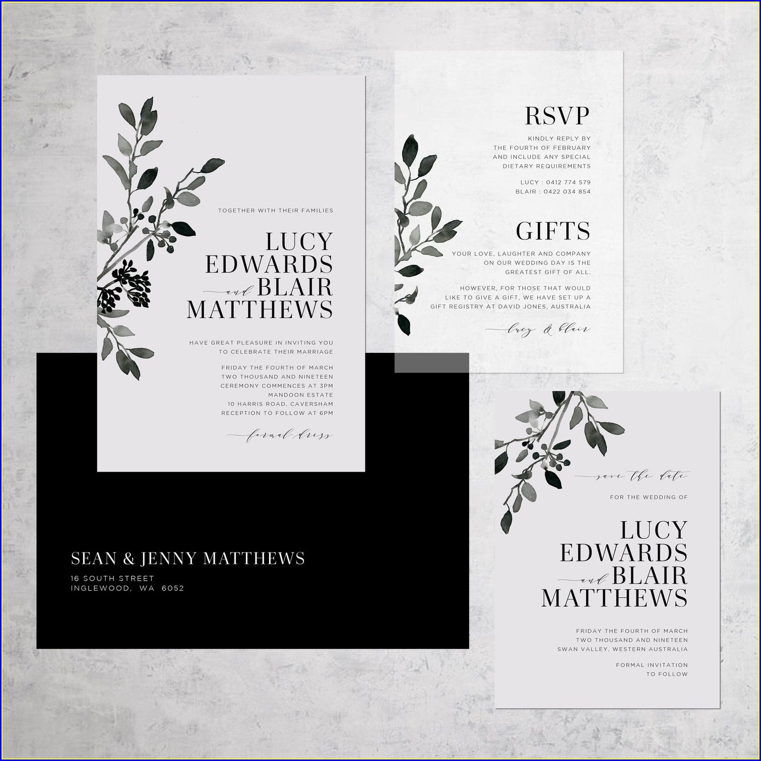 Dollar Tree Wedding Invitations