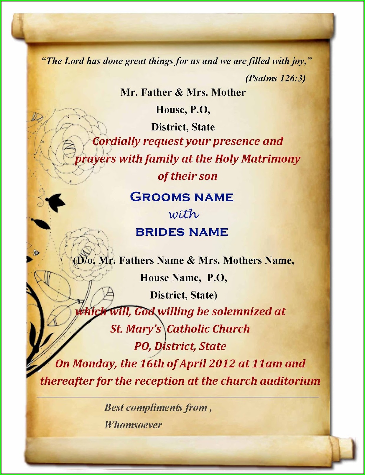 Download Wedding Invitation Cards For Free