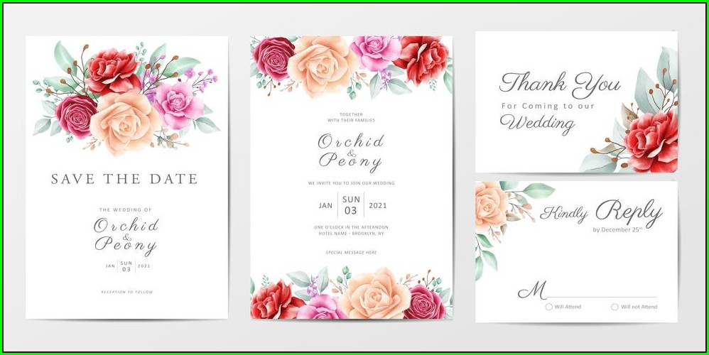 Download Wedding Invitation Cards