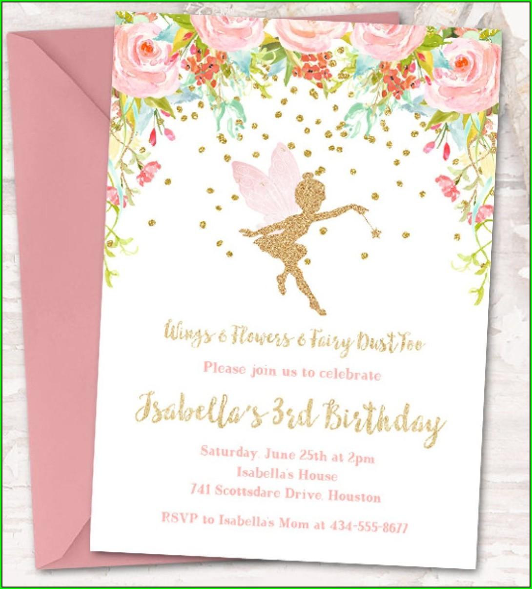 Downloadable 5th Birthday Invitation Templates