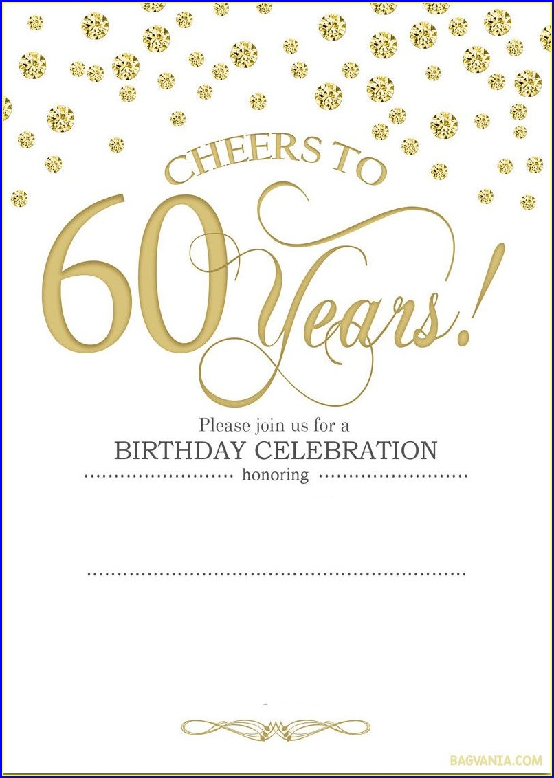 Downloadable 70th Birthday Invitations Templates Free