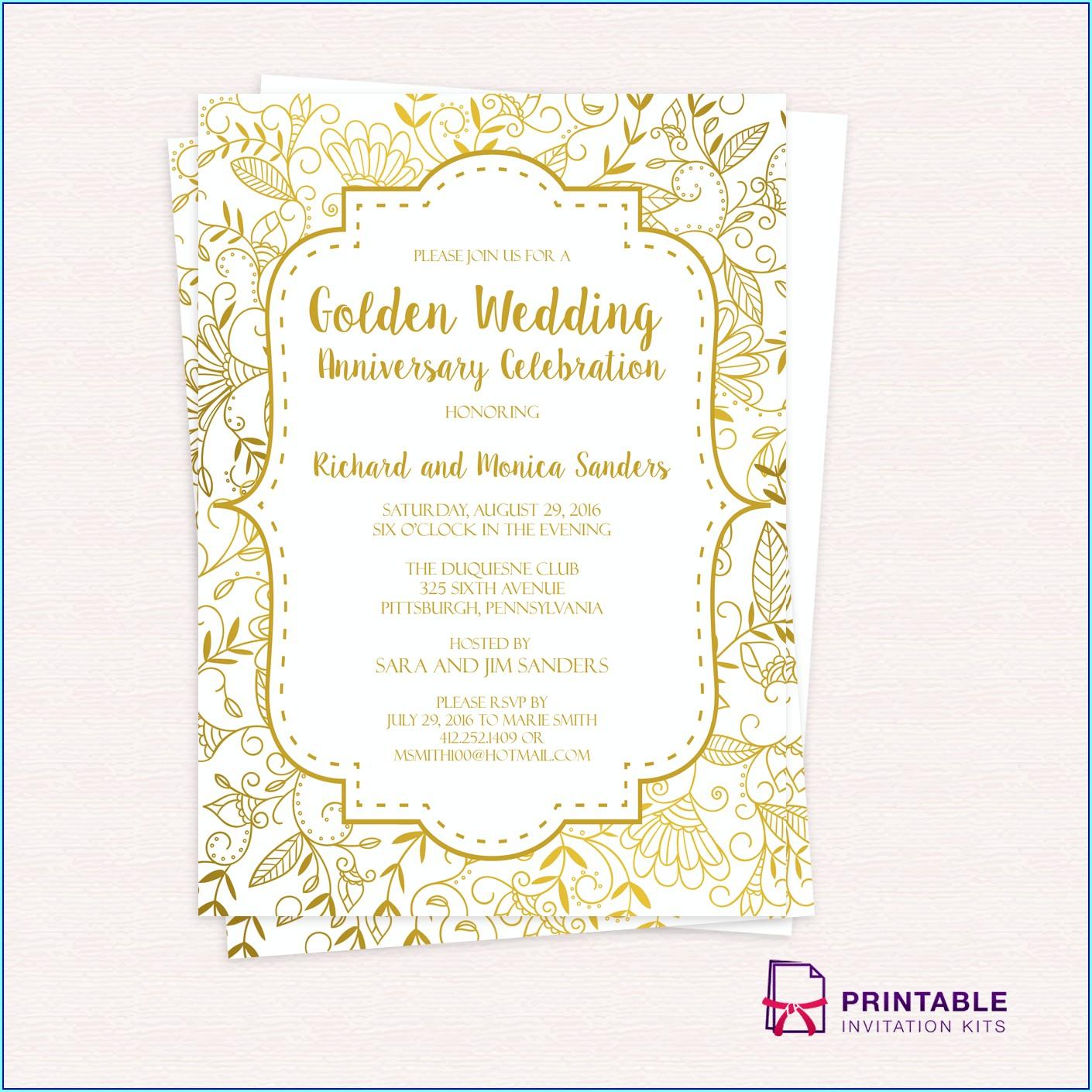 Downloadable Disney Wedding Invitation Templates