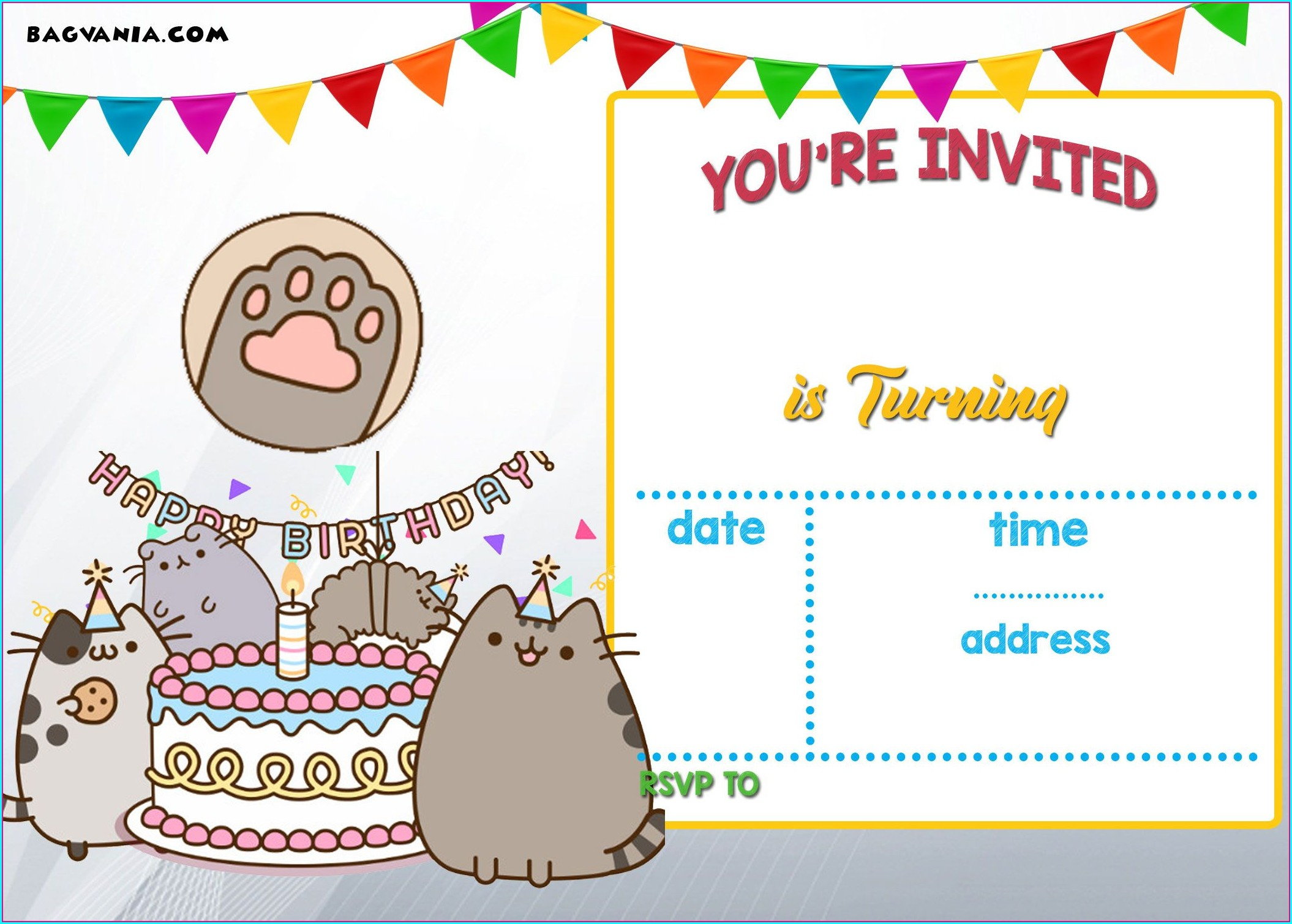 Downloadable Free Printable Birthday Invitations For Kids